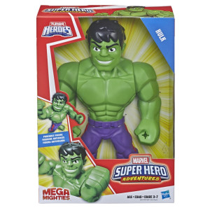 Super Hero Adventures Mega Mighties Hulken E4132