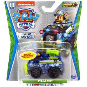 Paw Patrol True Metal 1-pack Jungle Rescue Chase
