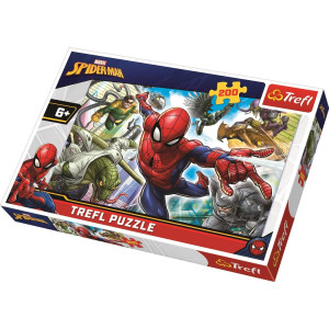 Trefl Spiderman Born Hero Pussel 200 bitar 13235