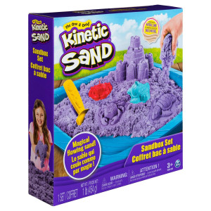 Kinetic Sand Sandcastle Set Lila