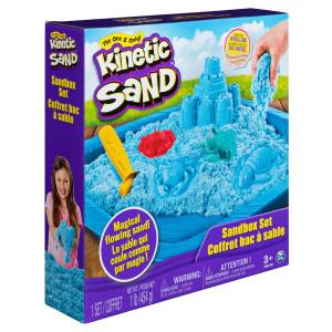 Kinetic Sand Sandcastle Set Blå