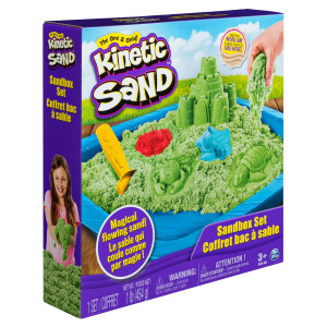 Kinetic Sand Sandcastle Set Grön