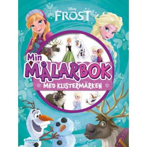 Målarbok Frost med klistermärken