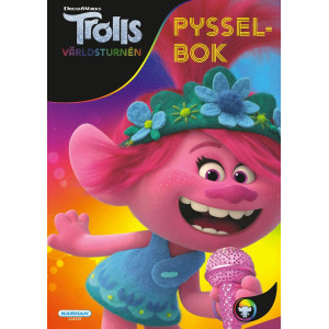 Pysselbok Trolls 2