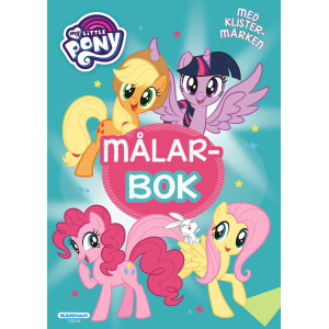 Målarbok My Little Pony Turkos