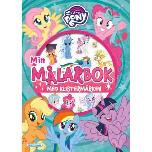 My Little Pony Min Målarbok med klistermärken