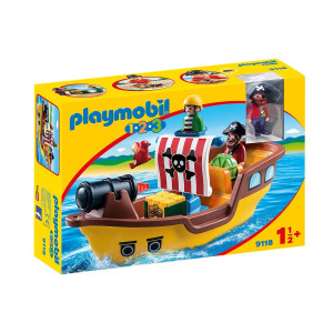Playmobil® 1.2.3 Piratskepp 9118