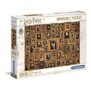 Clementoni Harry Potter Impossible Pussel 1000 bitar
