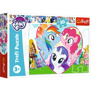 Trefl My Little Pony Better together Pussel 30 bitar 18241