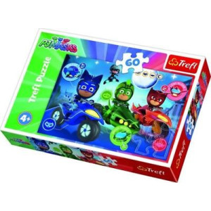 Trefl PJ Masks Night race Pussel 60 bitar 17324