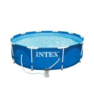 INTEX Rörpool 305x76cm 4485L inkl filterpump