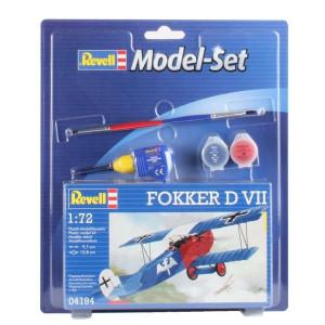 Revell Model-Set Fokker D VII 1:72