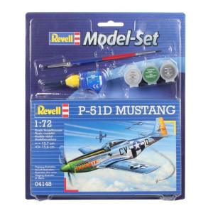 Revell Model-Set P-51D Mustang 1:72
