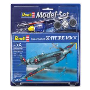 Revell Model-Set Spitfire Mk V 1:72