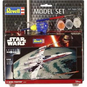 Revell Model-Set Star Wars X-wing Fighter 1:112