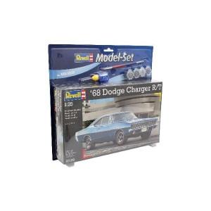 Revell Model- Set 1968 Dodge Charger R/T 1:25