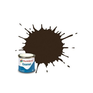 Humbrol Enamel Gloss Service brown 10