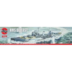 Airfix HMS Belfast 1:600 Modellbyggsats