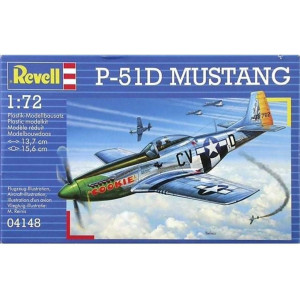 Revell P-51D Mustang 1:72 Modellbyggsats