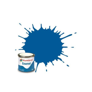 Humbrol Enamel Gloss French blue 14