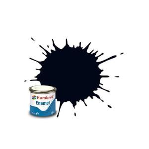 Humbrol Enamel Gloss Black 21