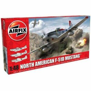 Airfix North American F51D Mustang 1:48 Modellbyggsats