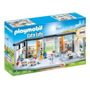 Playmobil® City life Sjukhus med möbler 70191
