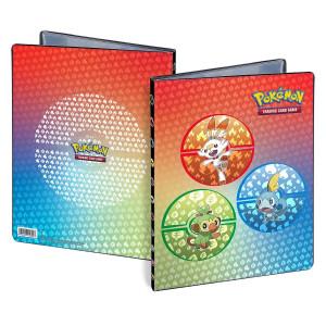 Pokémon 9-pocket Portfolio SWSH Galar Starters