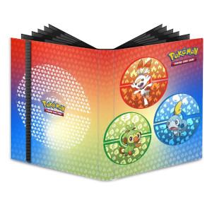 Pokémon PRO-BINDER SWSH Galar Starters 9-pocket 15352