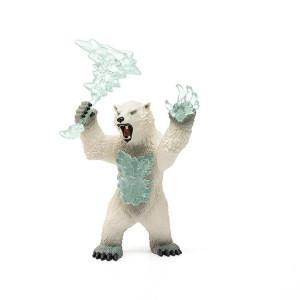 Schleich Eldrador Stormbjörn med vapen 42510